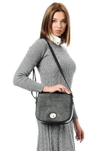 Cotton Bar Messenger / Askılı Çanta Siyah